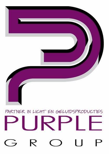 wij zijn blij! onze nieuwe partner in licht en geluid is Purple Group!