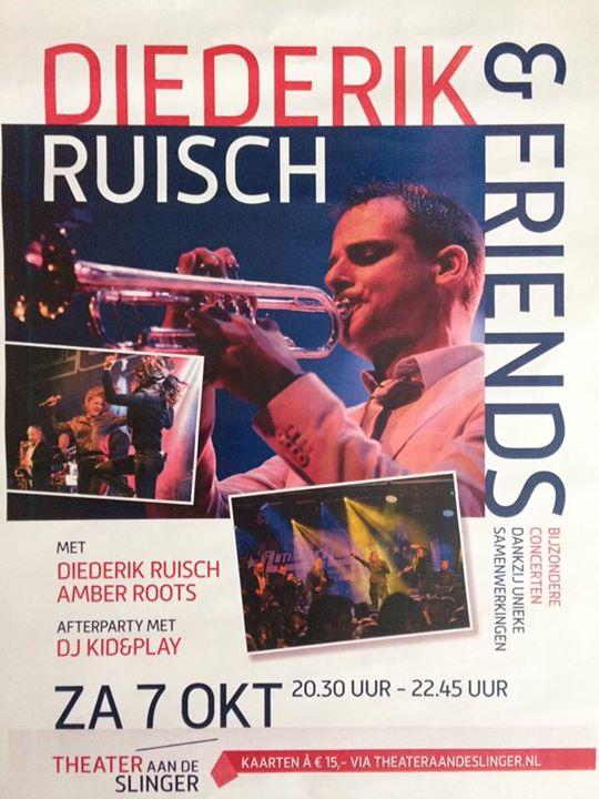 een avond helemaal uit je dak? dat kan! kom zaterdag 7 oktober naar Theater Aan de Slinger en dance, dance, dance!!! www.theateraandeslinger.nl / www.amberroots.nl